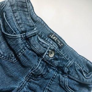 LEI Cut-off Jean Shorts